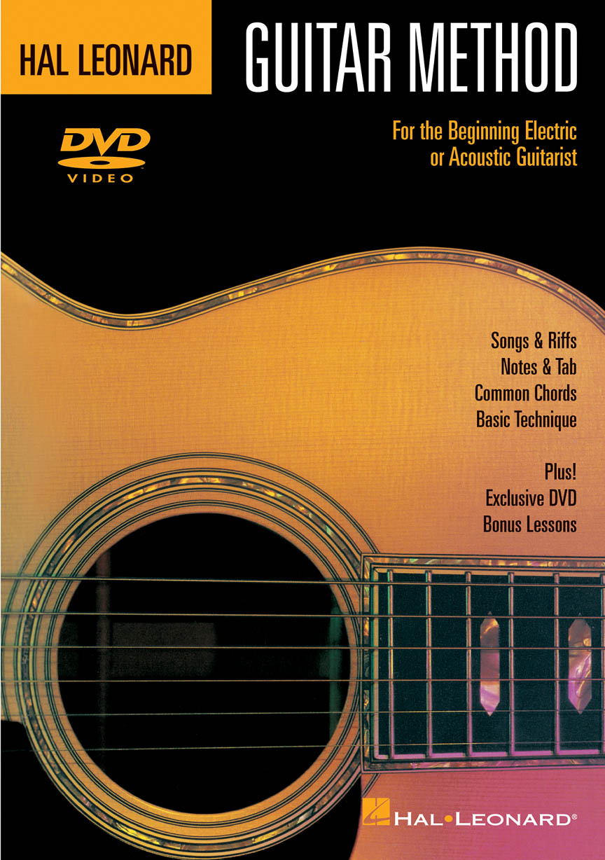 Product Cover for Hal Leonard Guitar Method DVD