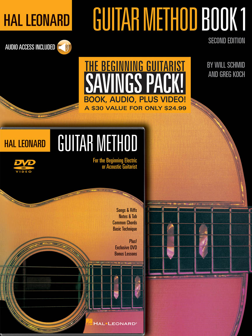 Product Cover for Hal Leonard Guitar Method Beginner's Pack