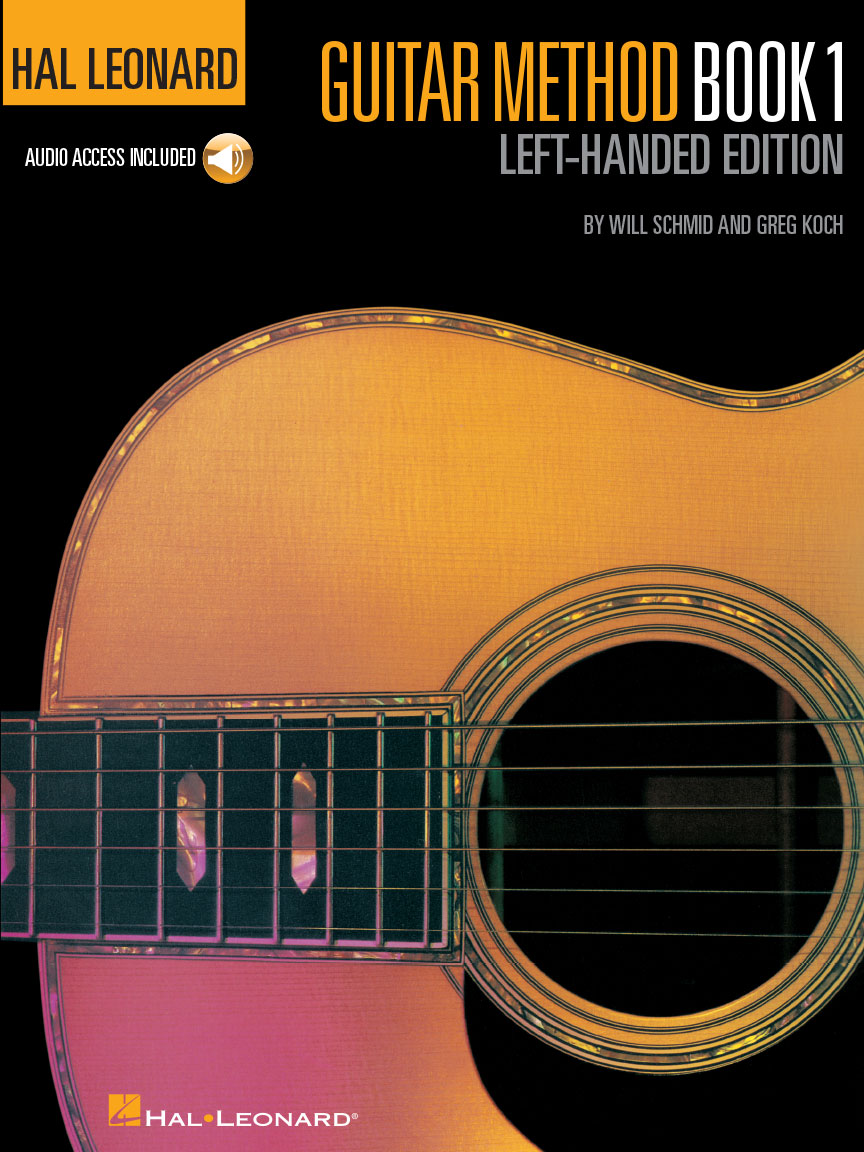 Product Cover for Hal Leonard Guitar Method, Book 1 – Left-Handed Edition