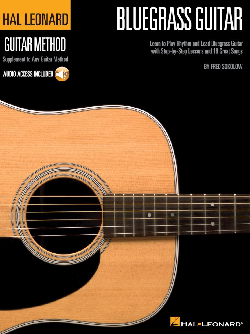 Product Cover for Hal Leonard Bluegrass Guitar Method