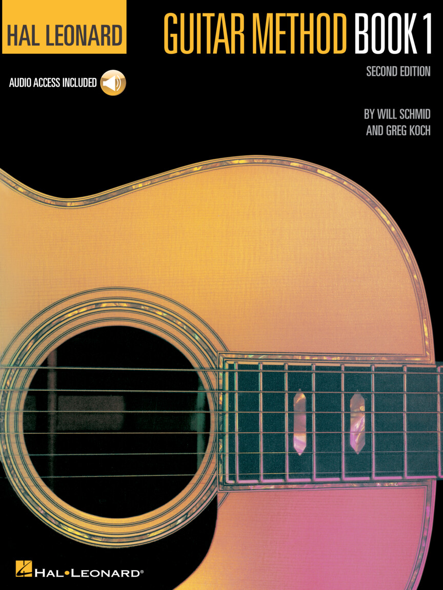Product Cover for Hal Leonard Guitar Method Book 1 – Second Edition