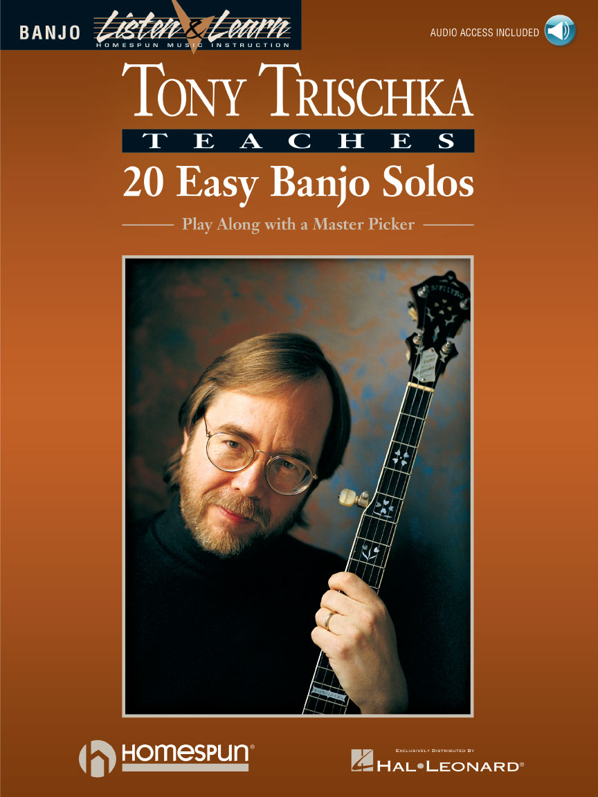 Product Cover for Tony Trischka Teaches 20 Easy Banjo Solos