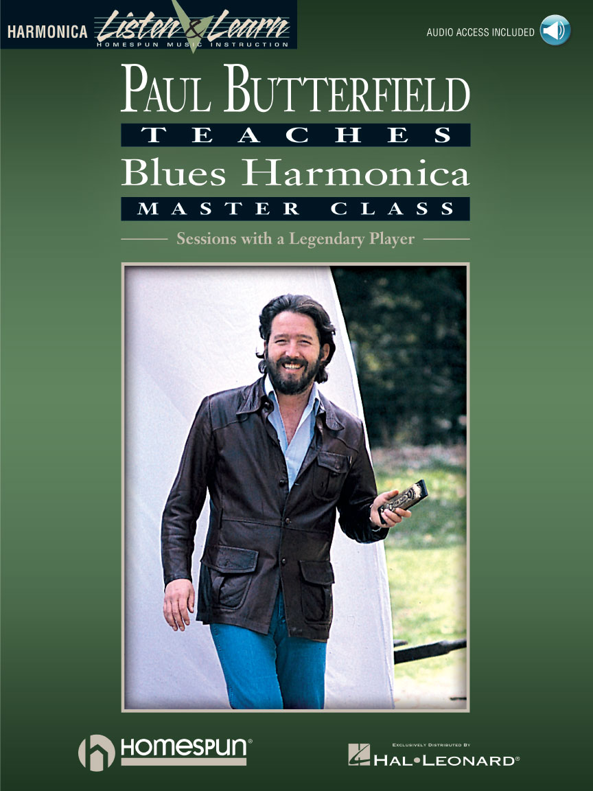 Product Cover for Paul Butterfield – Blues Harmonica Master Class