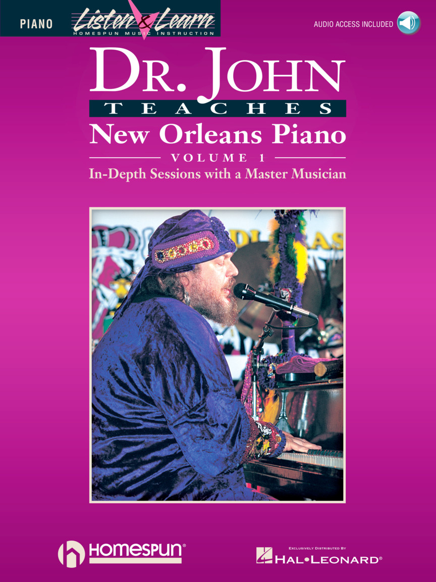 Product Cover for Dr. John Teaches New Orleans Piano – Volume 1