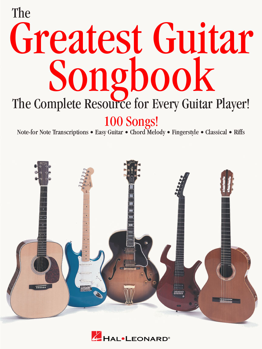 Product Cover for The Greatest Guitar Songbook