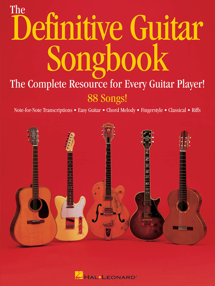 Product Cover for The Definitive Guitar Songbook