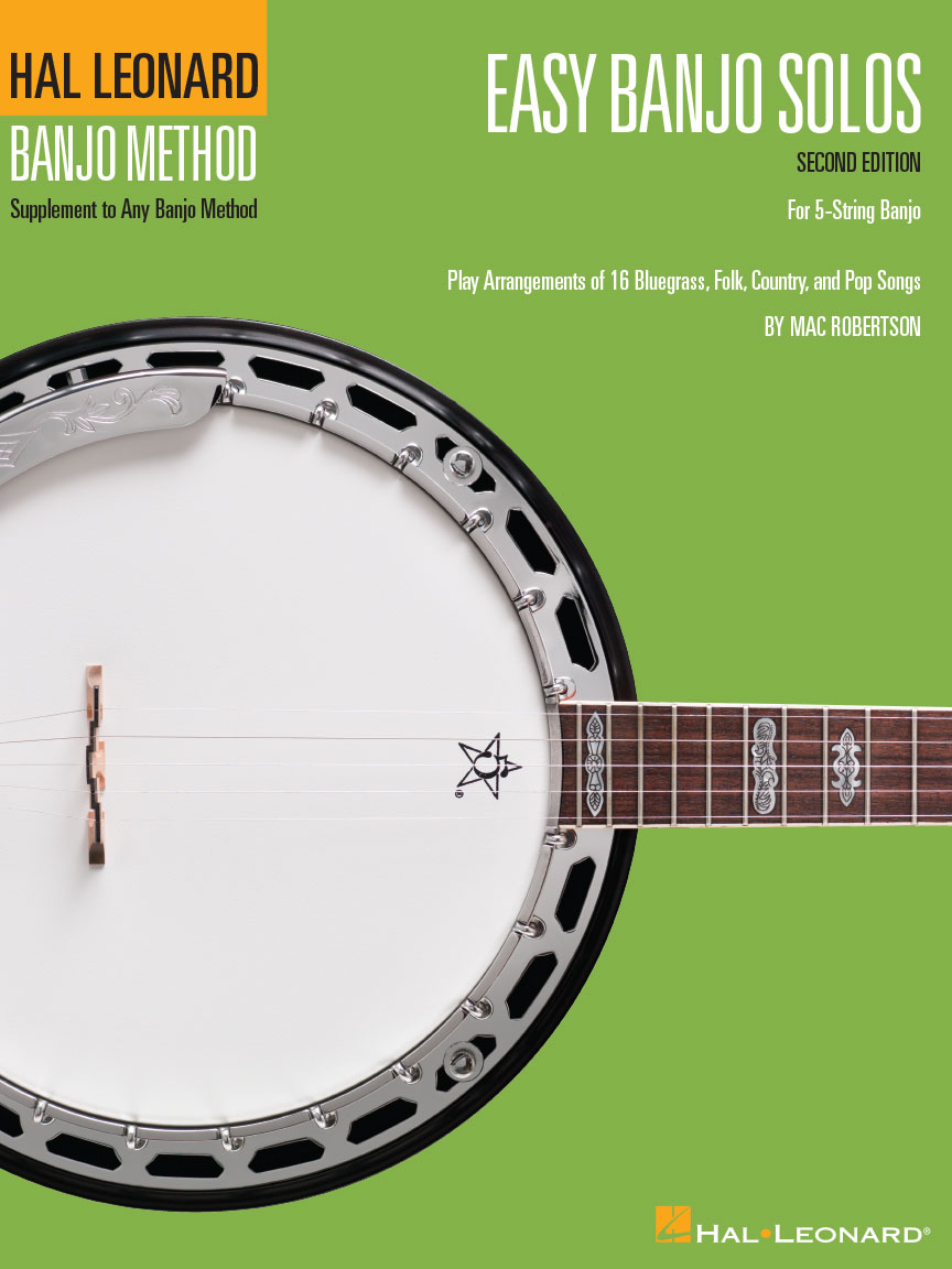 Product Cover for Easy Banjo Solos – Second Edition