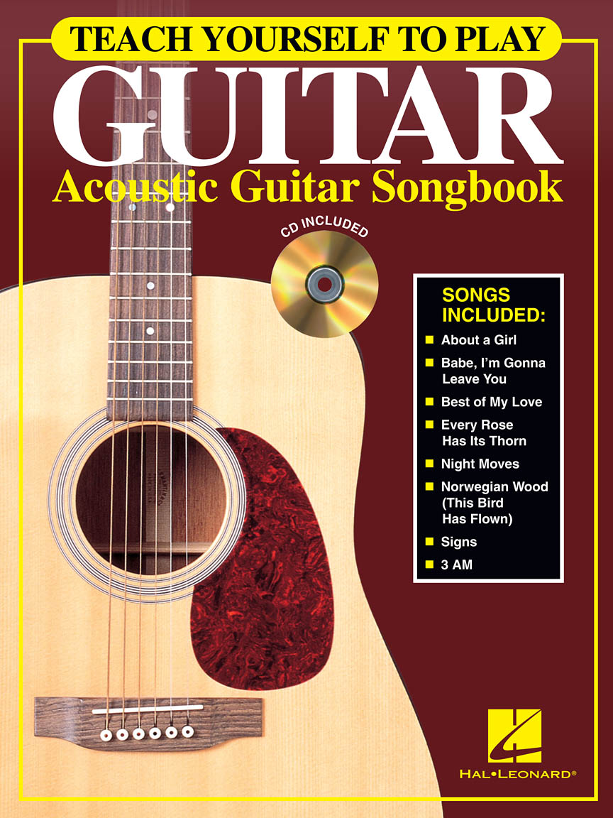 Product Cover for Teach Yourself to Play Guitar – Acoustic Guitar Songbook