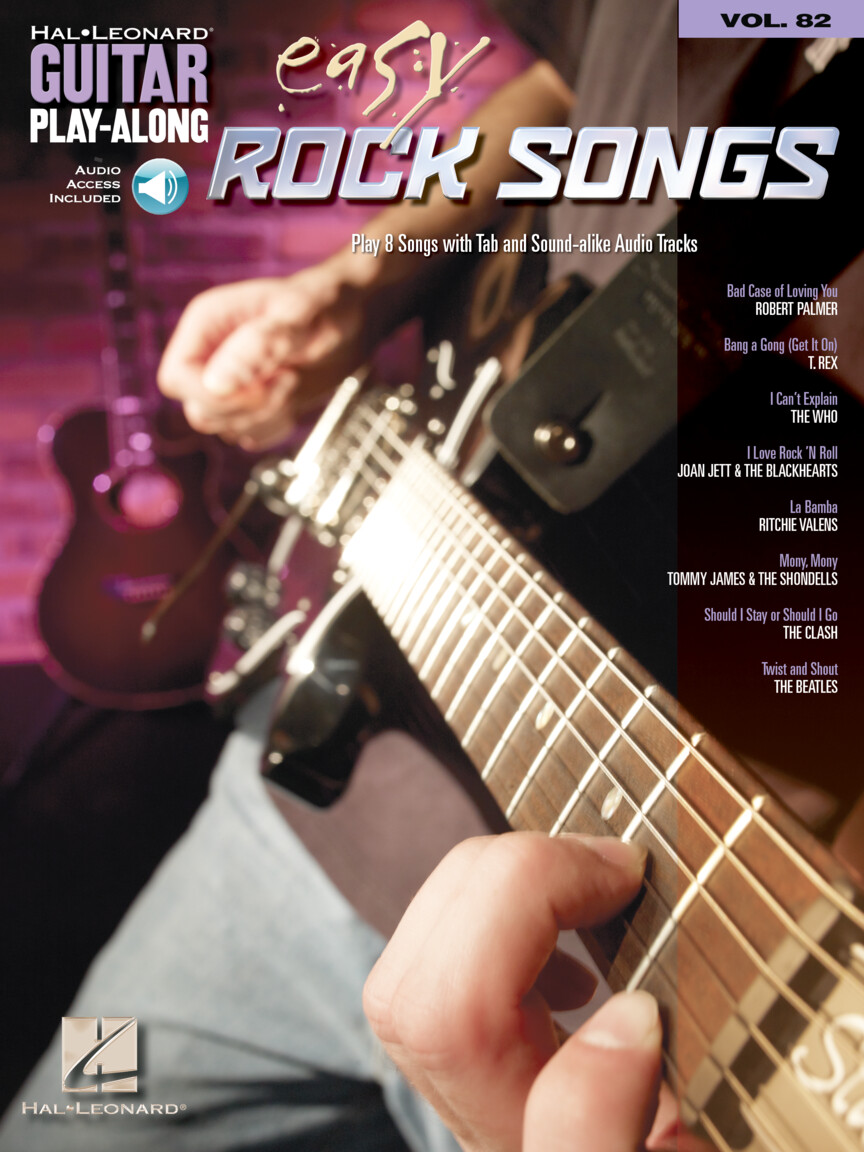 Product Cover for Easy Rock Songs