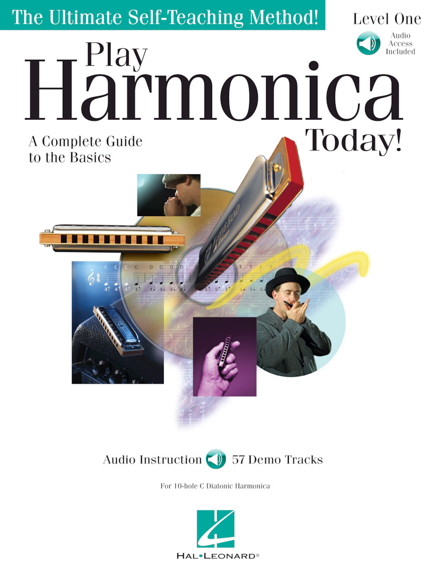 Product Cover for Play Harmonica Today!