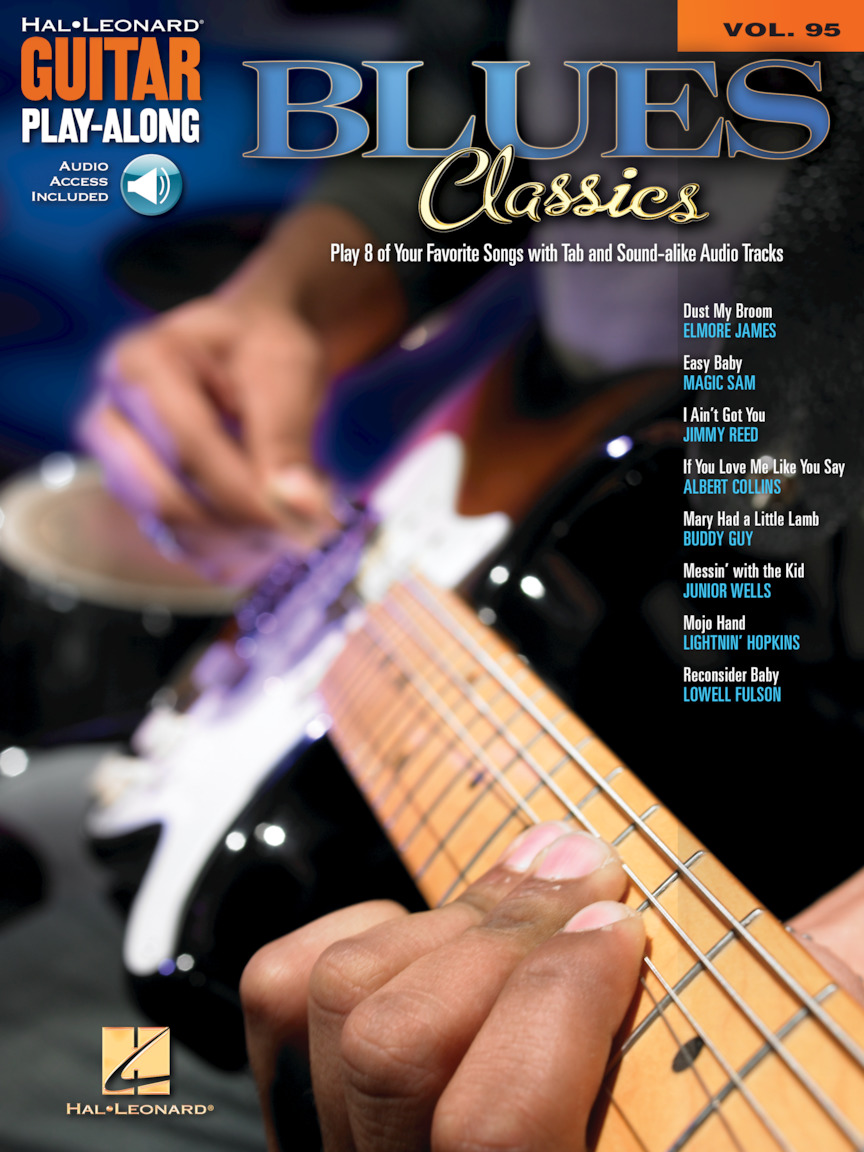 Blues Songs for Beginners Easy Guitar Play-Along TAB Music Book//Audio Buddy Guy