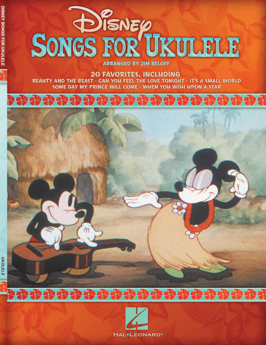 Product Cover for Disney Songs for Ukulele