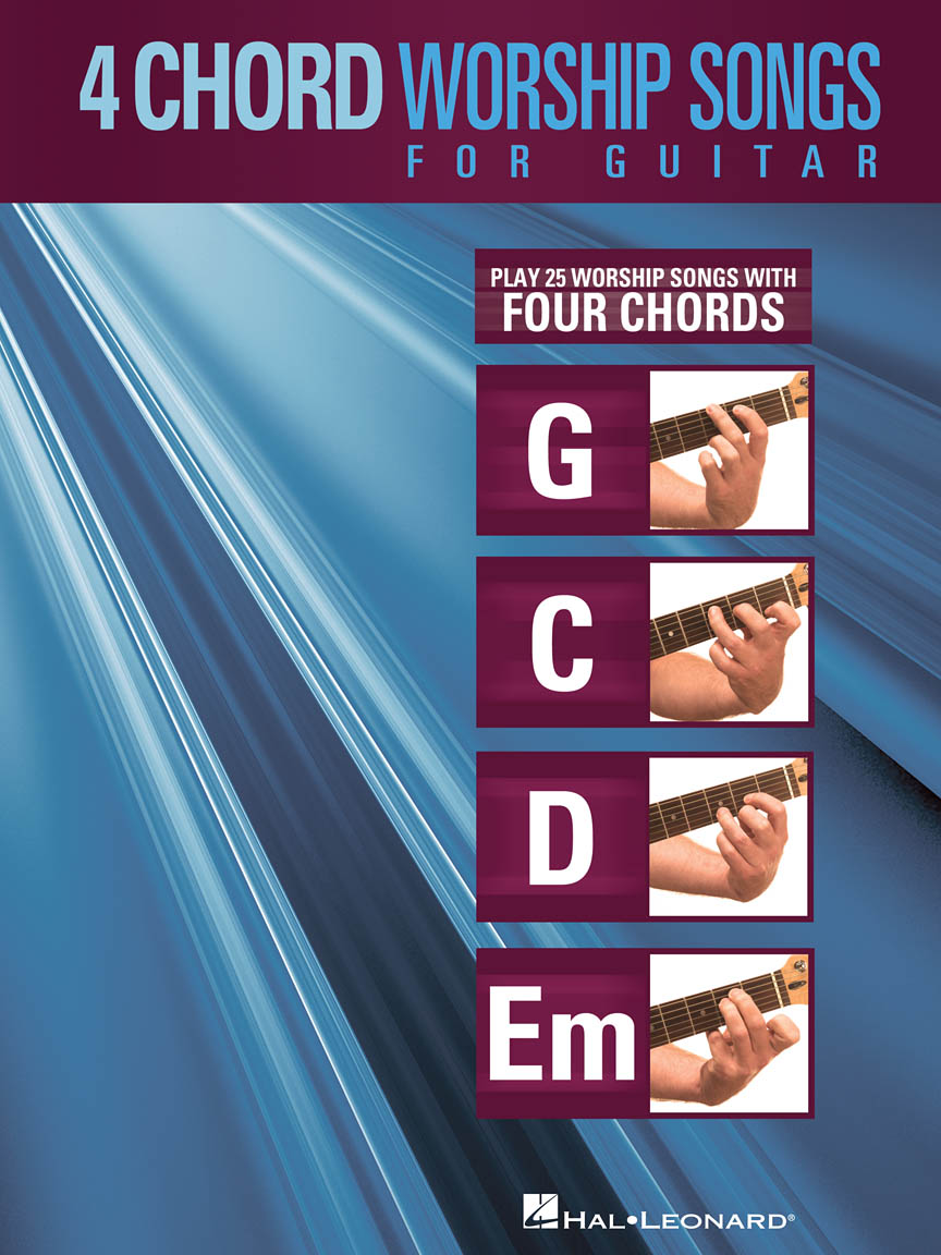 Product Cover for 4-Chord Worship Songs for Guitar