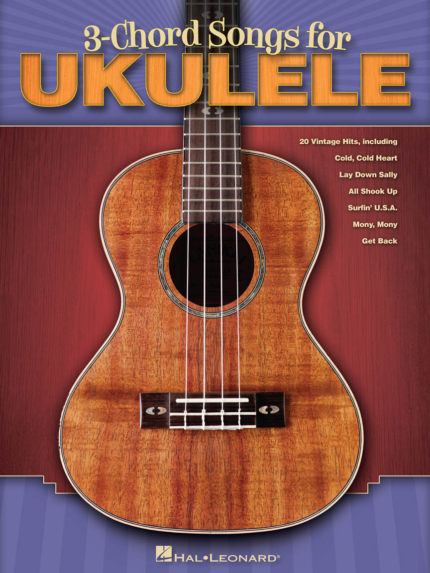 Product Cover for 3-Chord Songs for Ukulele