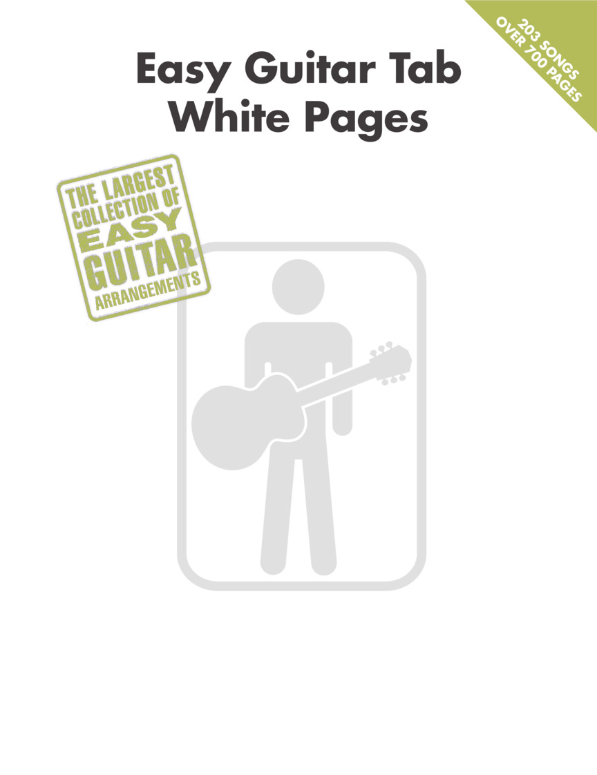 Product Cover for Easy Guitar Tab White Pages