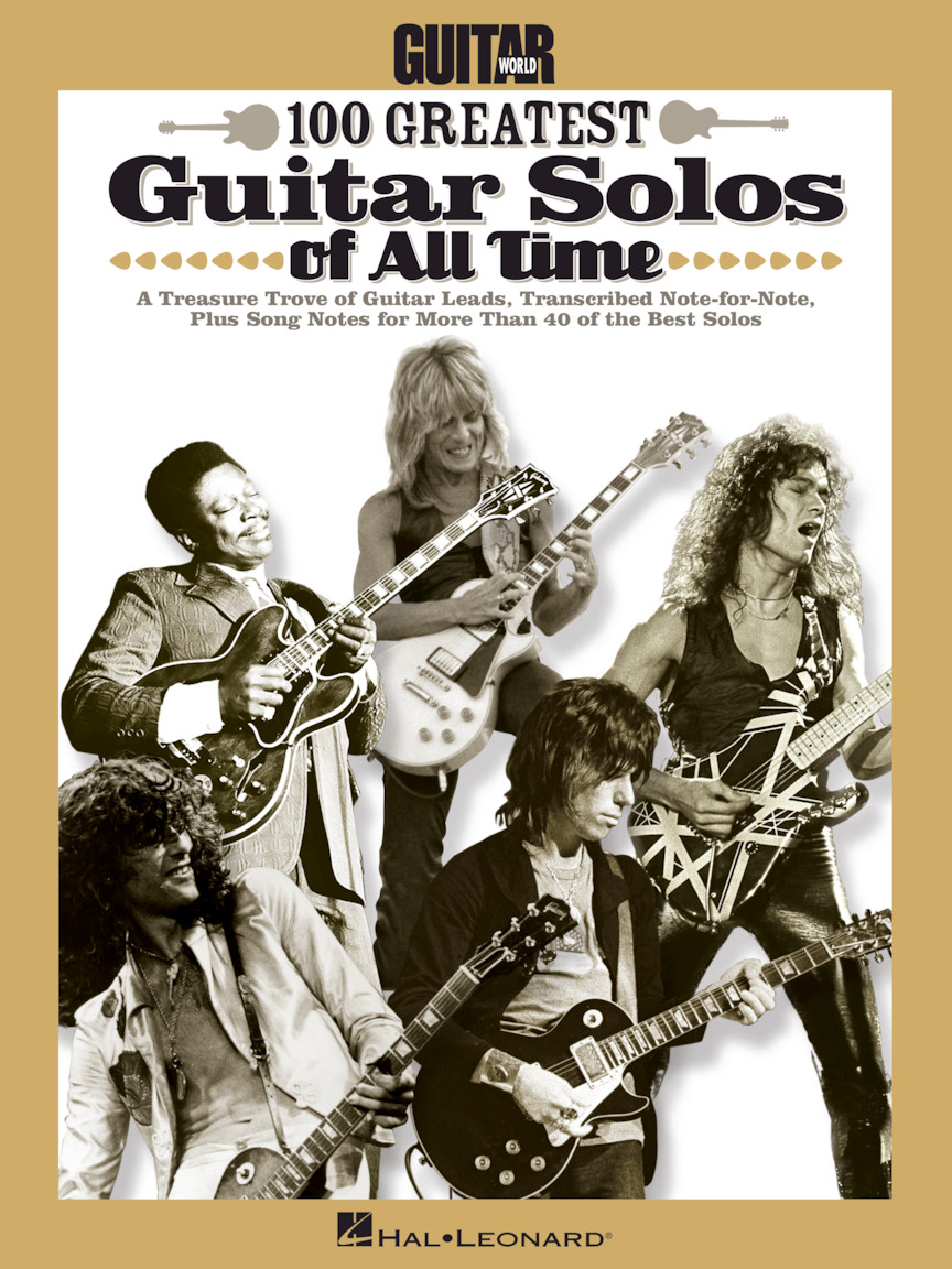 Product Cover for Guitar World's 100 Greatest Guitar Solos of All Time