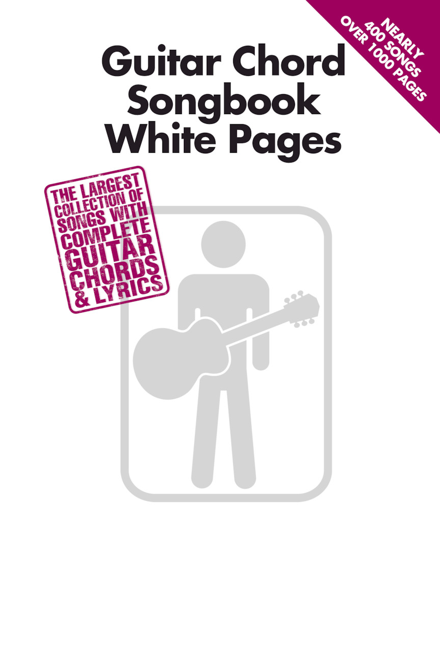Product Cover for Guitar Chord Songbook White Pages