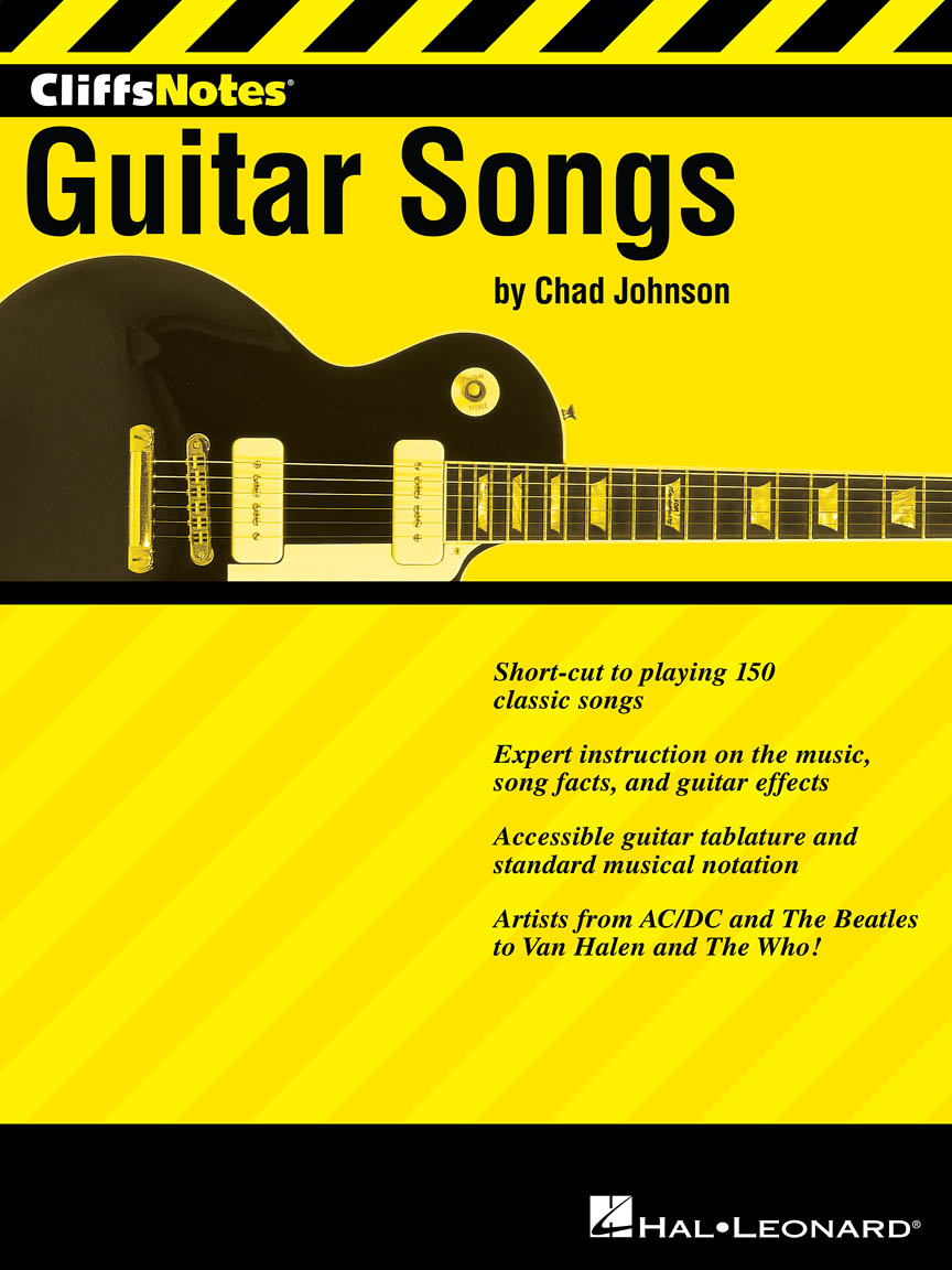Product Cover for CliffsNotes to Guitar Songs