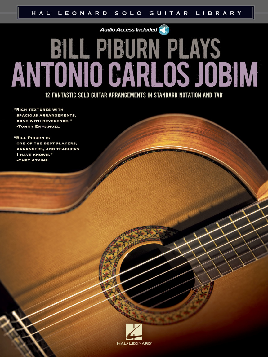 Product Cover for Bill Piburn Plays Antonio Carlos Jobim