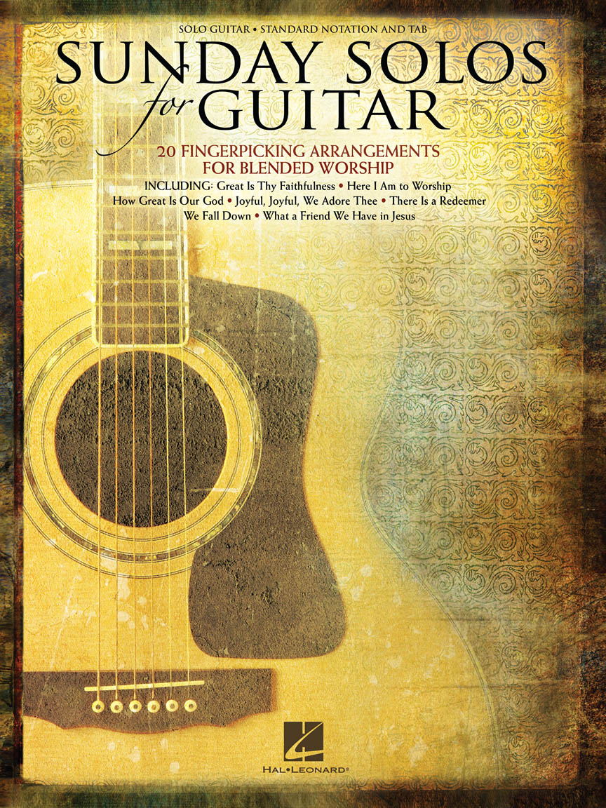 Product Cover for Sunday Solos for Guitar