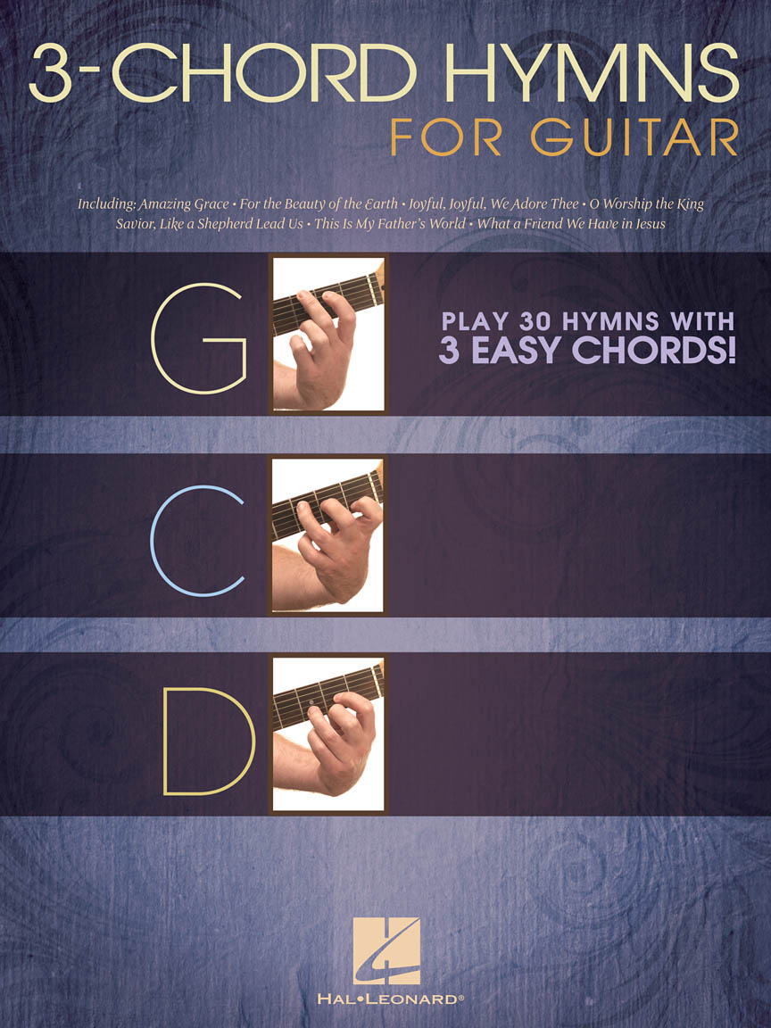 Product Cover for 3-Chord Hymns for Guitar