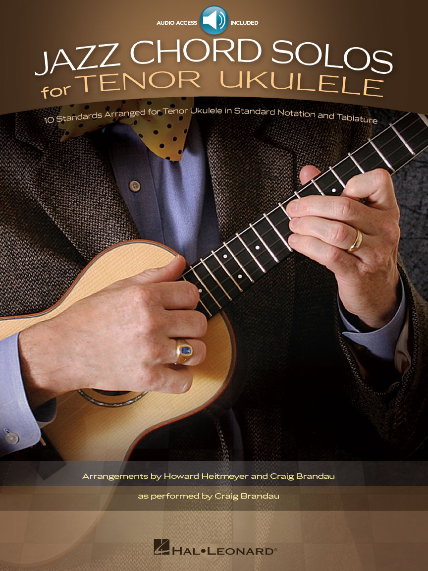 Product Cover for Jazz Chord Solos for Tenor Ukulele