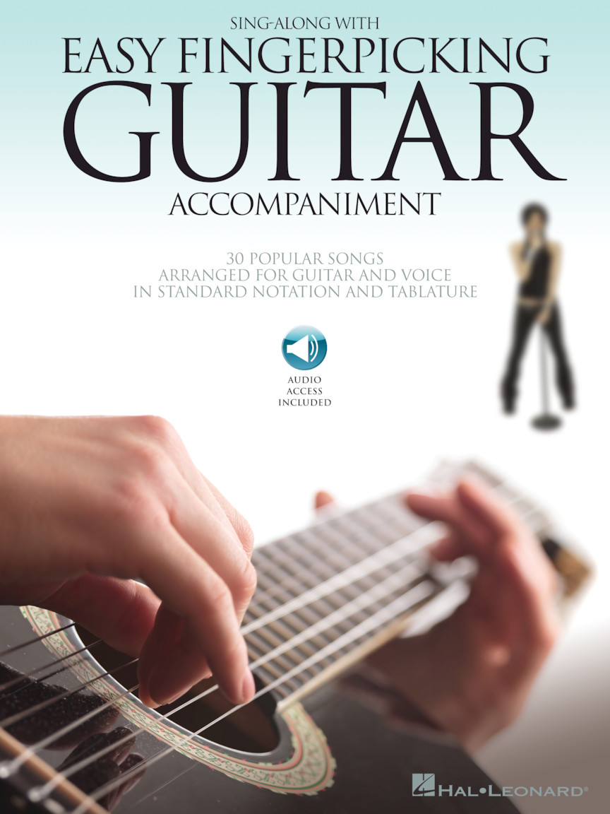 Product Cover for Sing Along with Easy Fingerpicking Guitar Accompaniment