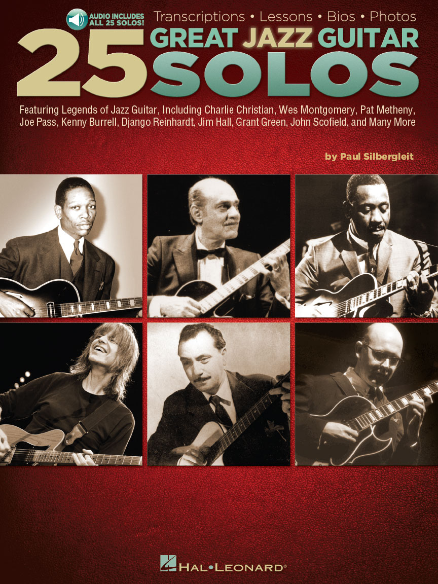 Product Cover for 25 Great Jazz Guitar Solos