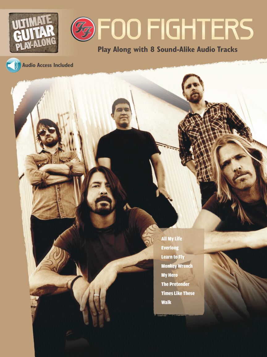 Product Cover for Foo Fighters – Ultimate Guitar Play-Along
