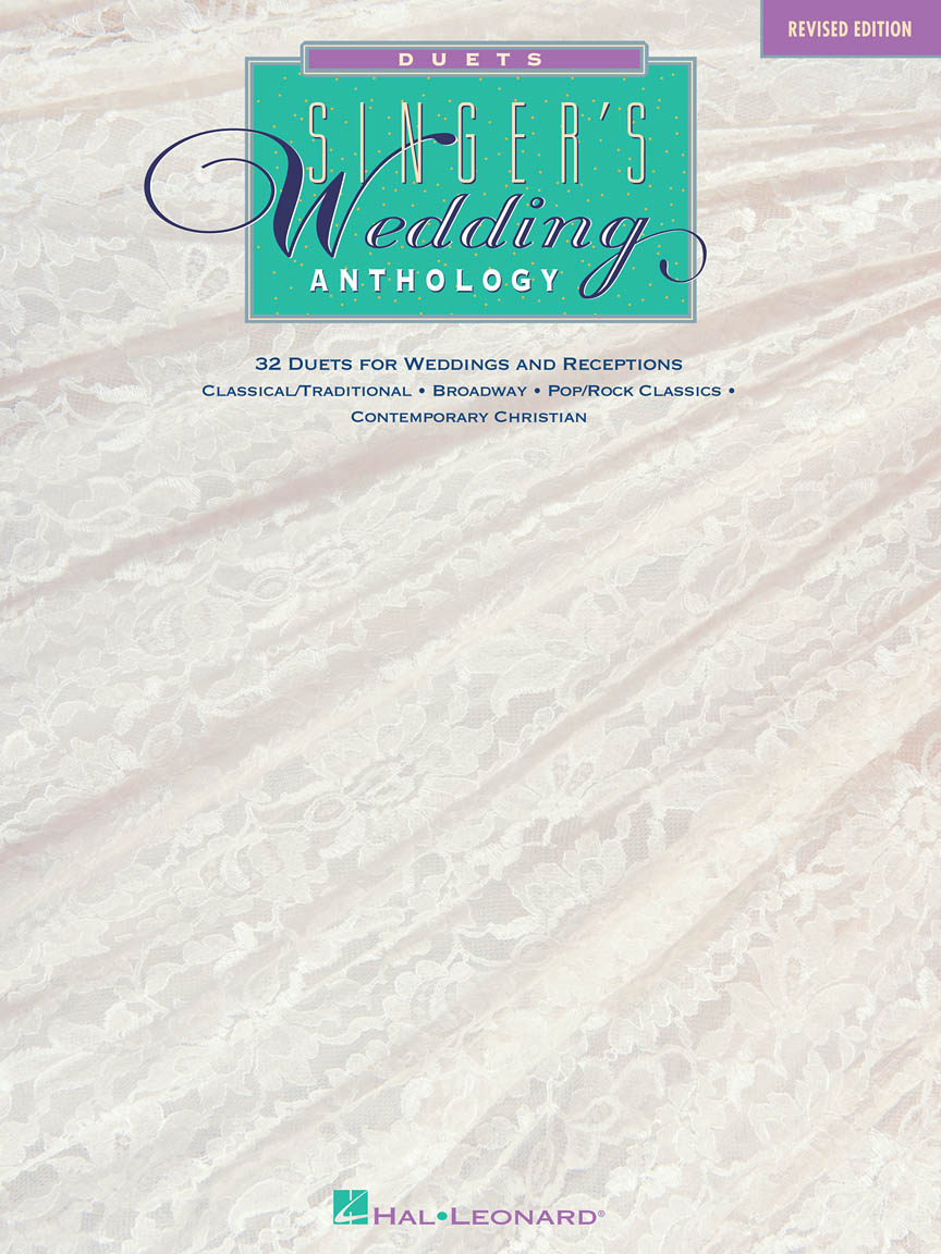 Product Cover for Singer's Wedding Anthology – Revised Edition