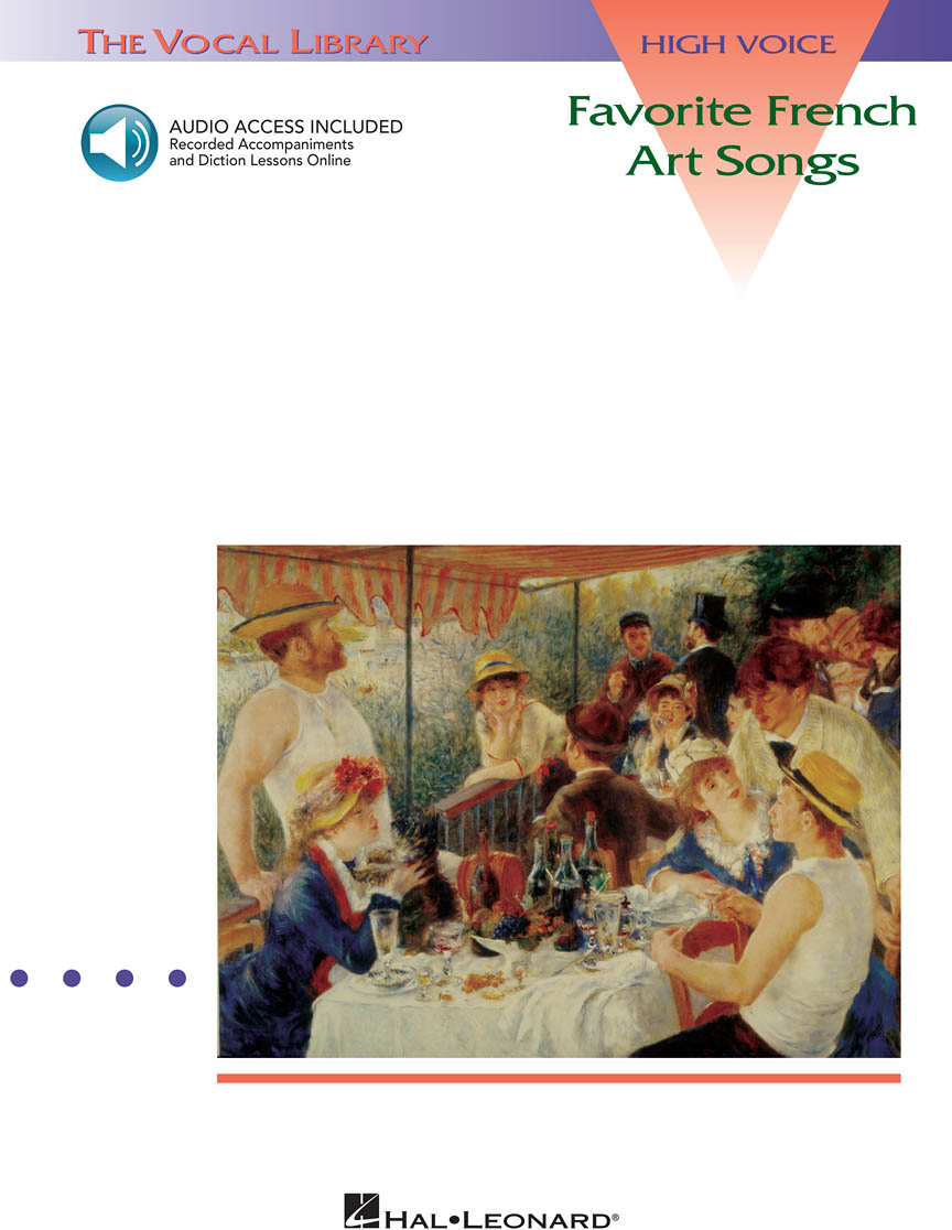 Product Cover for Favorite French Art Songs – Volume 1