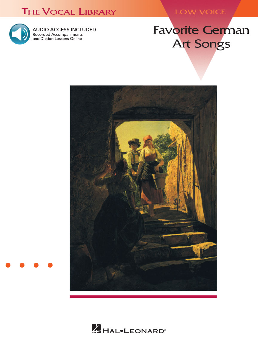 Product Cover for Favorite German Art Songs: Low Voice - Book/Online Audio