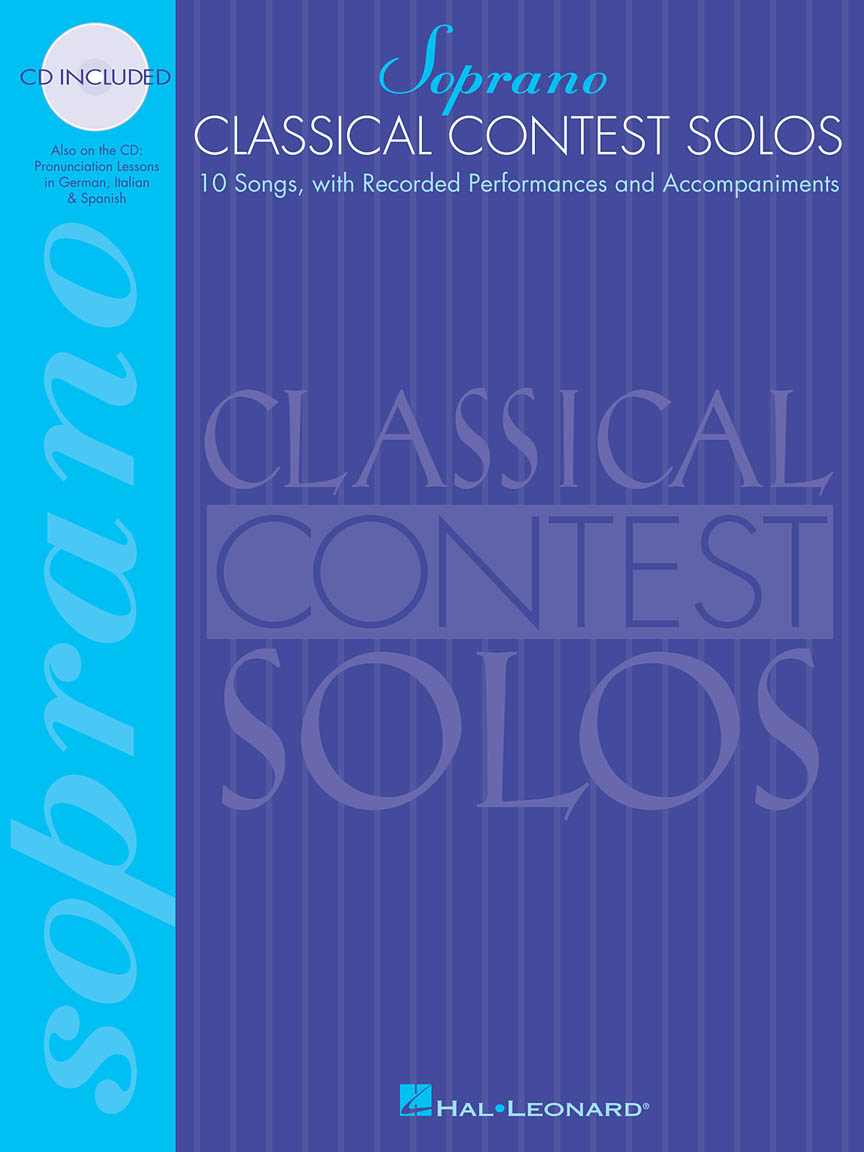 Product Cover for Classical Contest Solos - Soprano