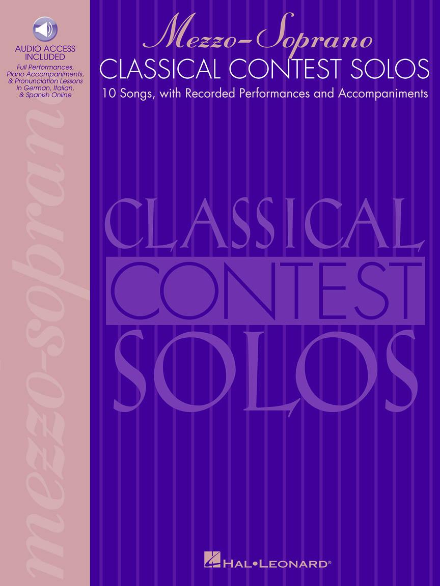 Product Cover for Classical Contest Solos - Mezzo-Soprano