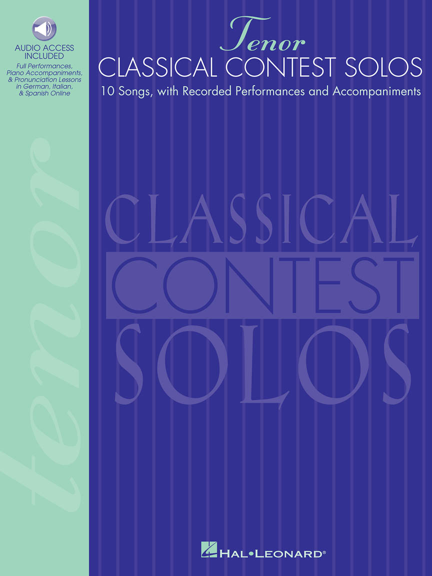 Product Cover for Classical Contest Solos - Tenor