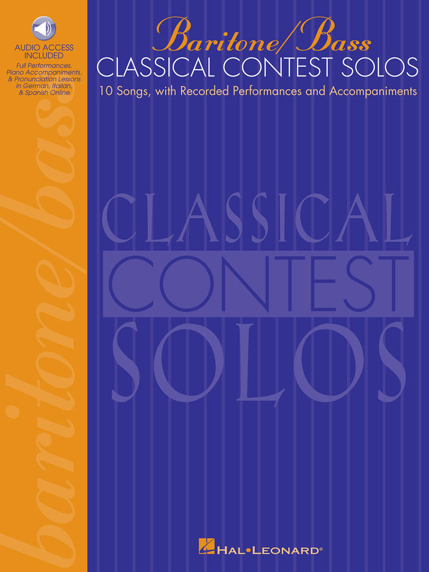 Product Cover for Classical Contest Solos - Baritone/Bass