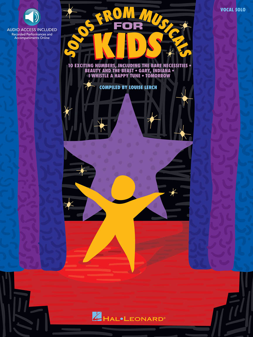 Product Cover for Solos from Musicals for Kids