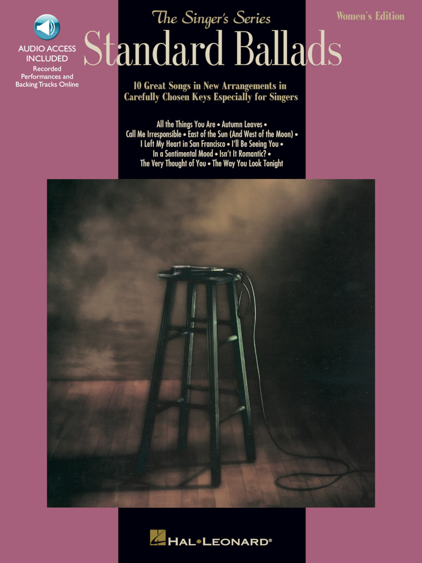 Product Cover for Standard Ballads – Women's Edition