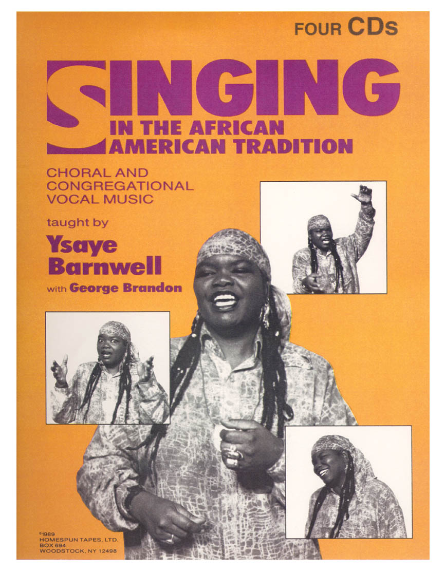 Product Cover for Singing in the African American Tradition