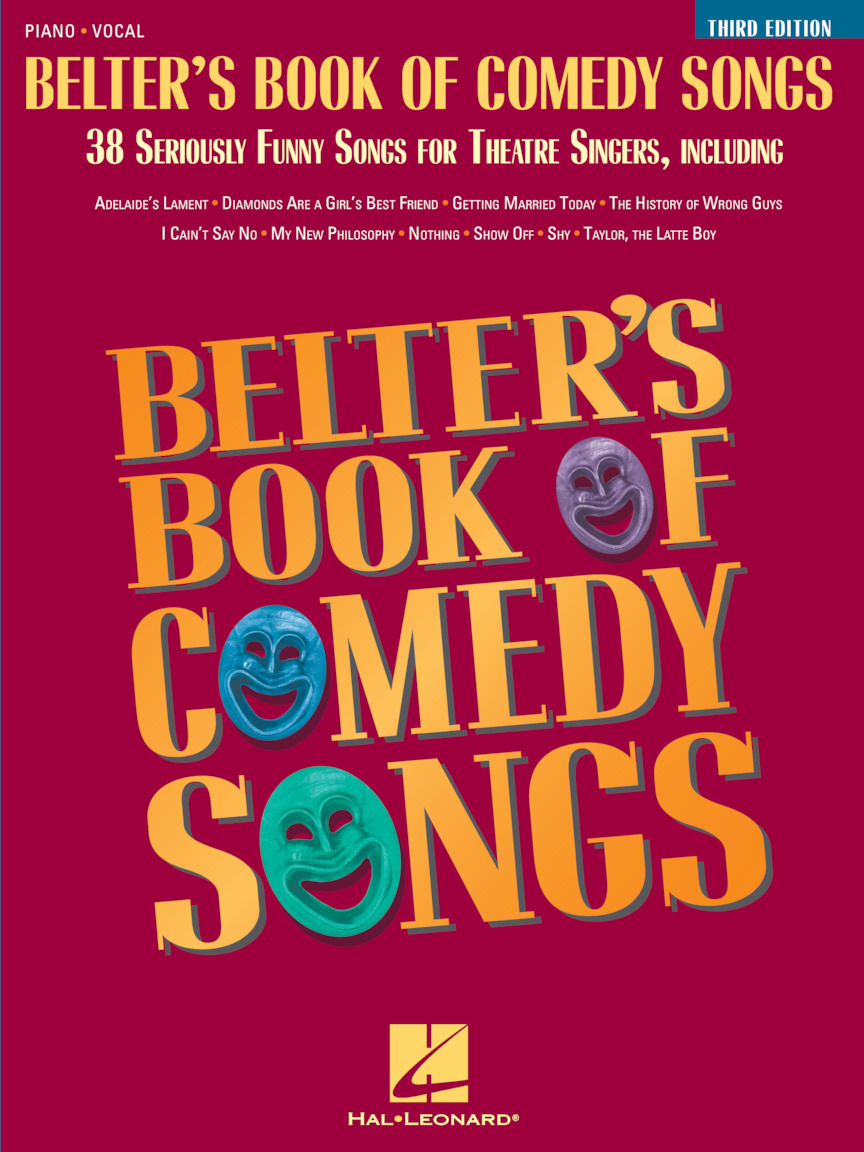 Product Cover for Belter's Book of Comedy Songs – Third Edition