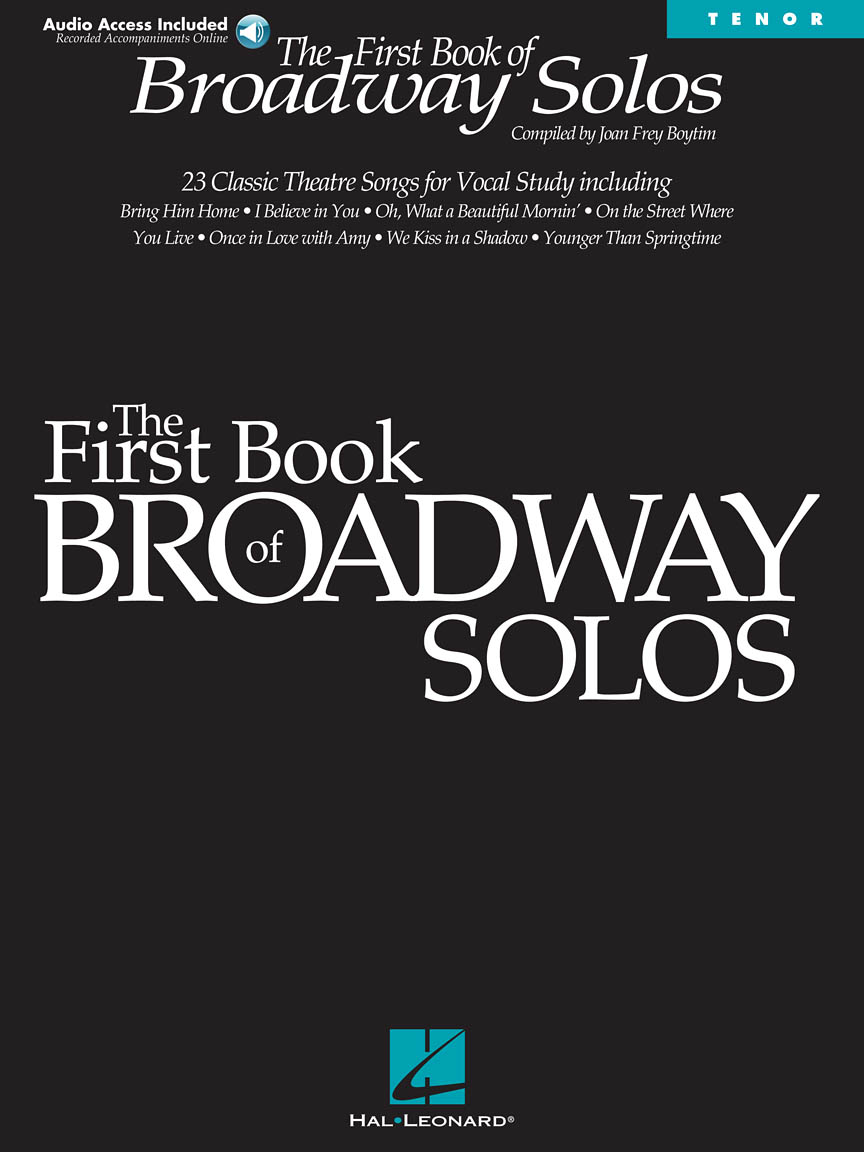 Product Cover for First Book of Broadway Solos