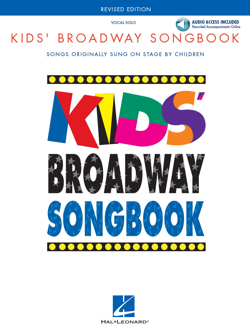 Product Cover for Kids' Broadway Songbook – Revised Edition