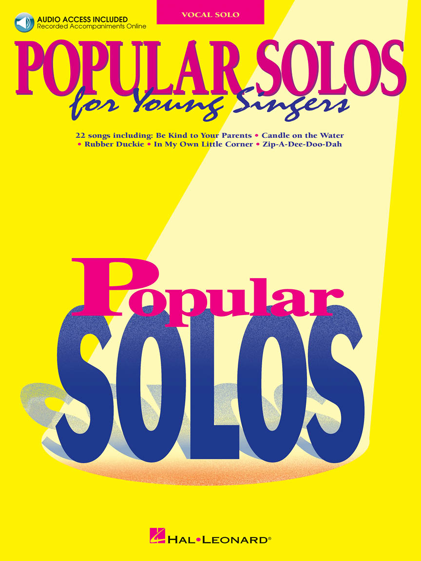 Product Cover for Popular Solos for Young Singers