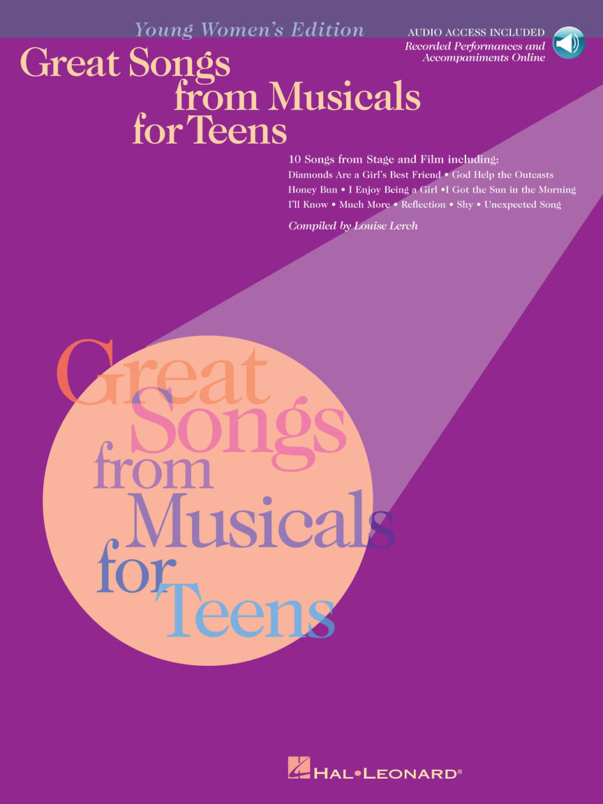 Product Cover for Great Songs from Musicals for Teens