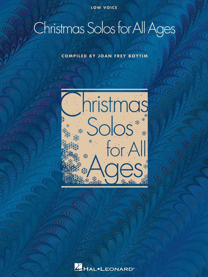 Product Cover for Christmas Solos for All Ages - Low Voice