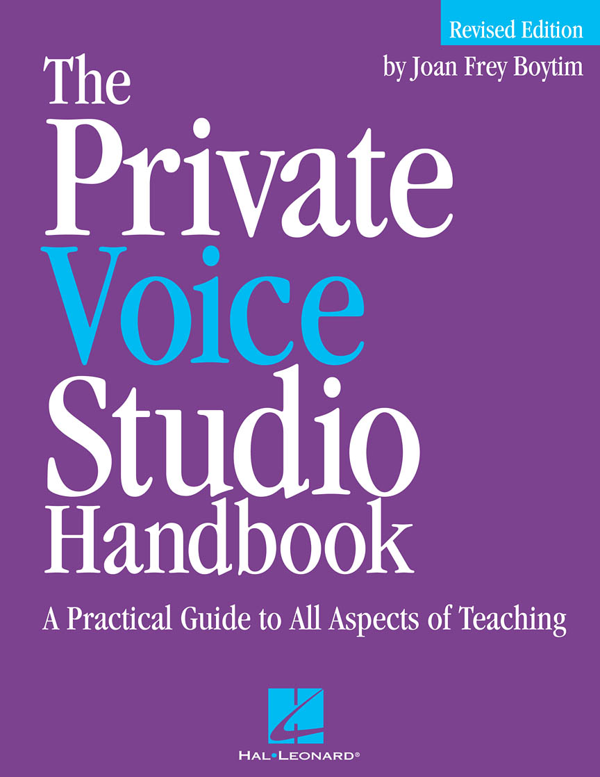 Product Cover for The Private Voice Studio Handbook – Revised Edition