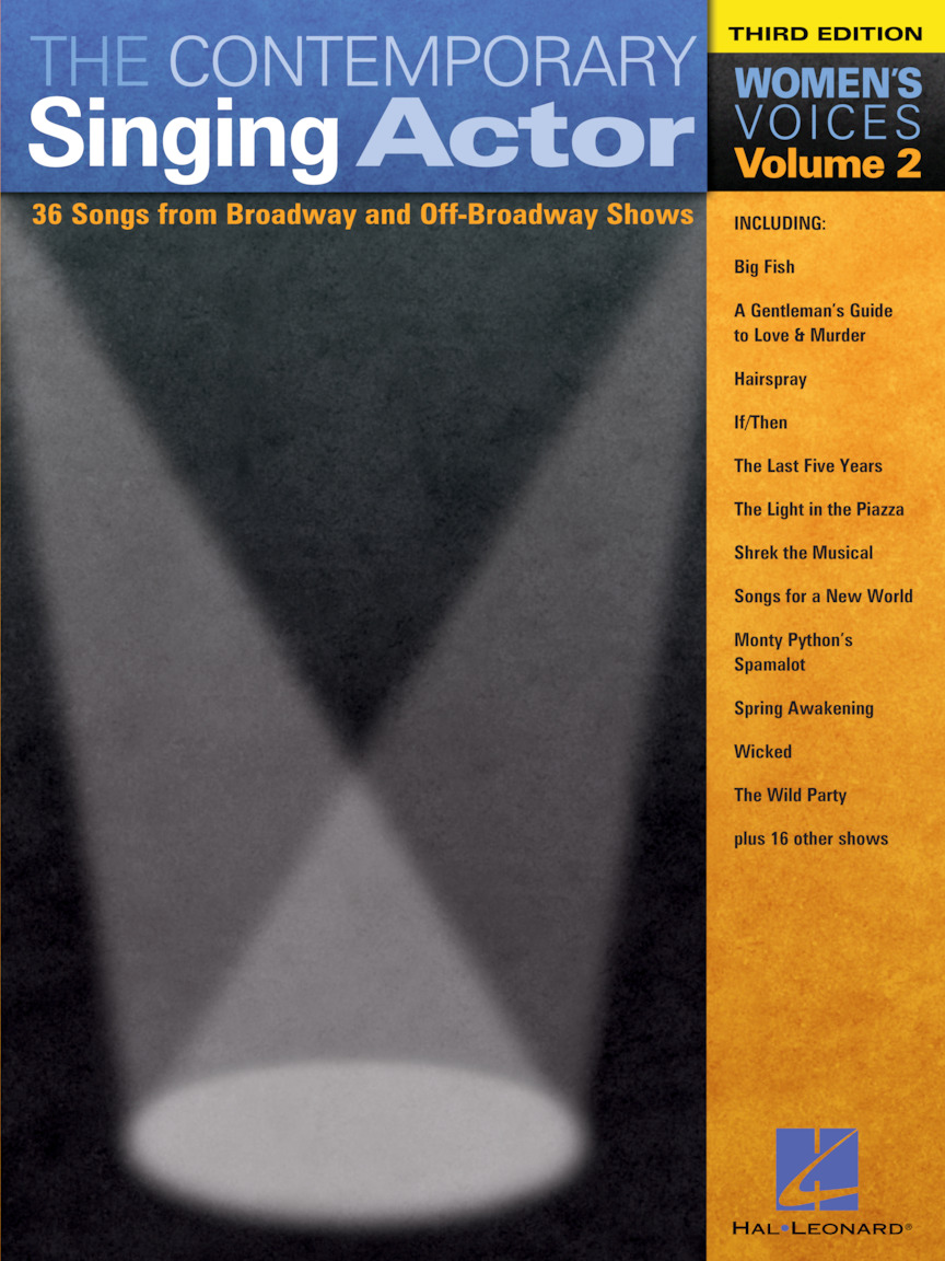 Product Cover for The Contemporary Singing Actor – Volume 2, Third Edition
