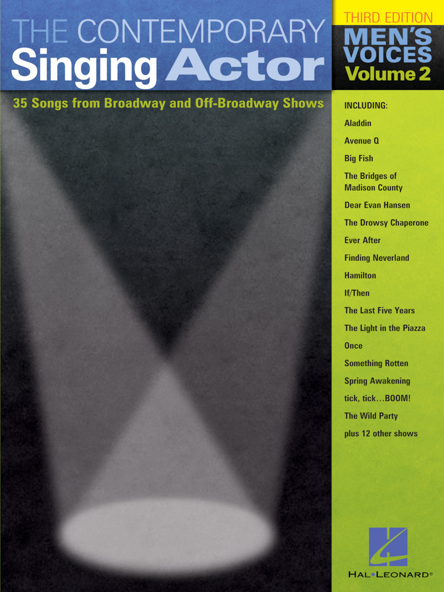Product Cover for The Contemporary Singing Actor – Men's Voices, Volume 2
