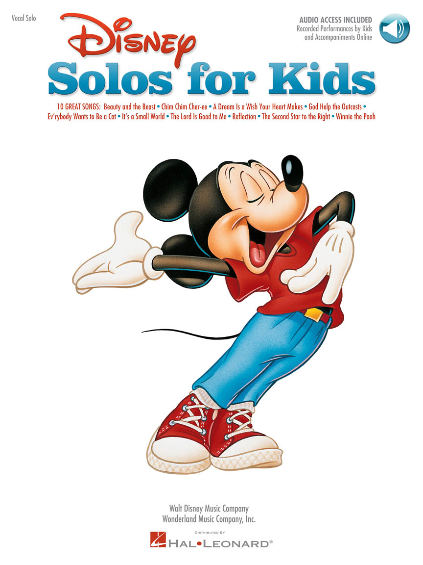 Product Cover for Disney Solos for Kids