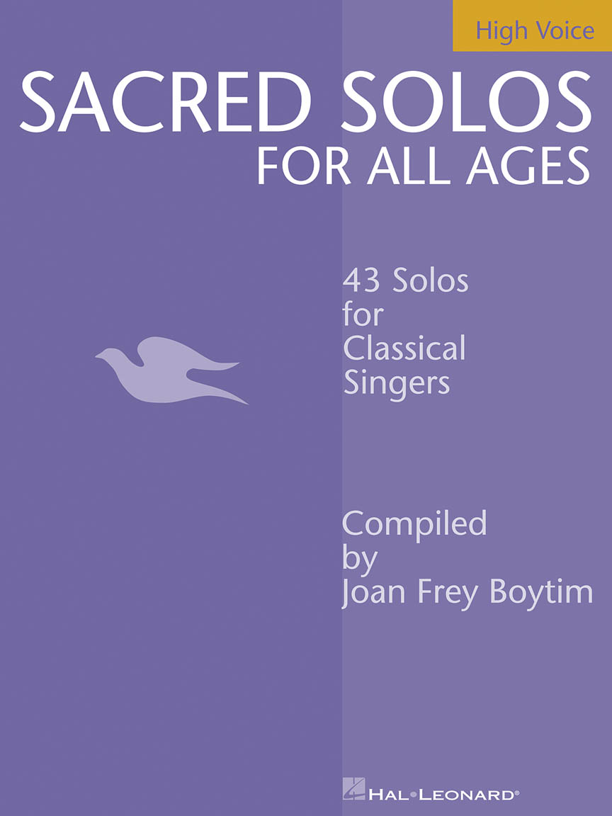 Product Cover for Sacred Solos for All Ages - High Voice